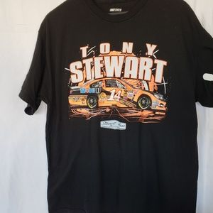 Vintage Tony Stewart racing race car Nascar tshirt